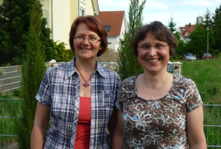 Anni Schmidt und Rita Piejko